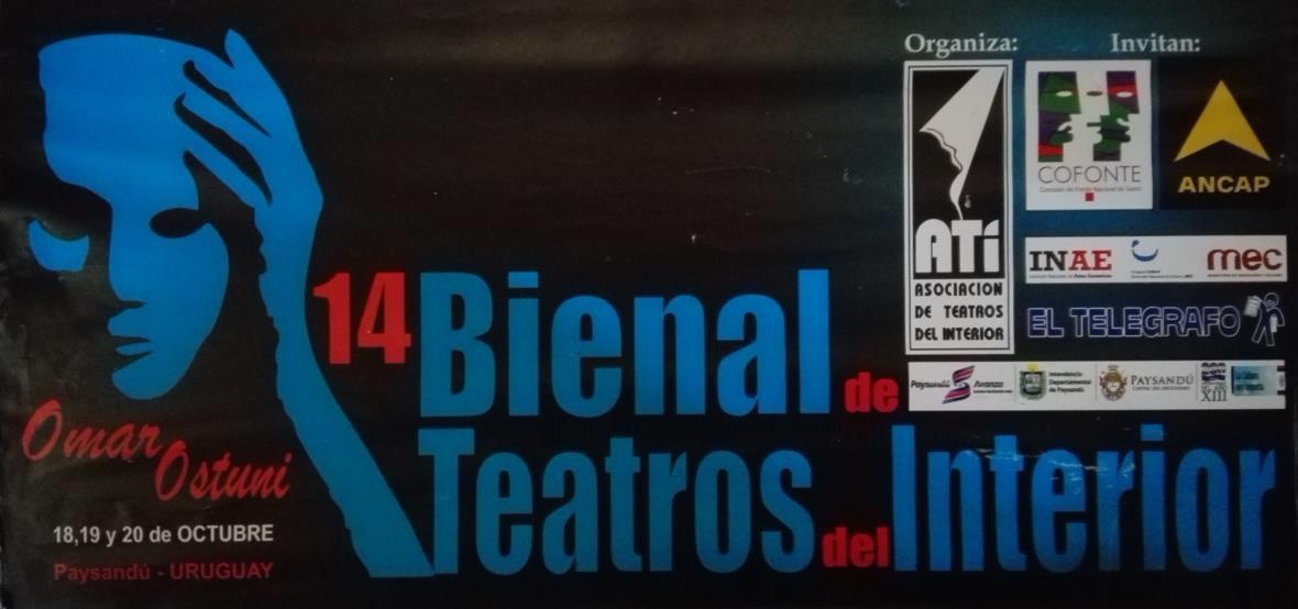 Décima cuarta bienal de teatros del interior