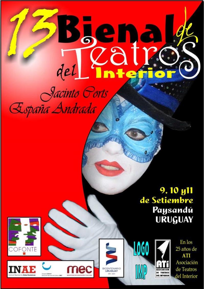 Décima Tercera Bienal de Teatros del Interior
