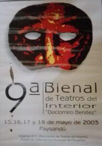 Novena Bienal de Teatros del Interior