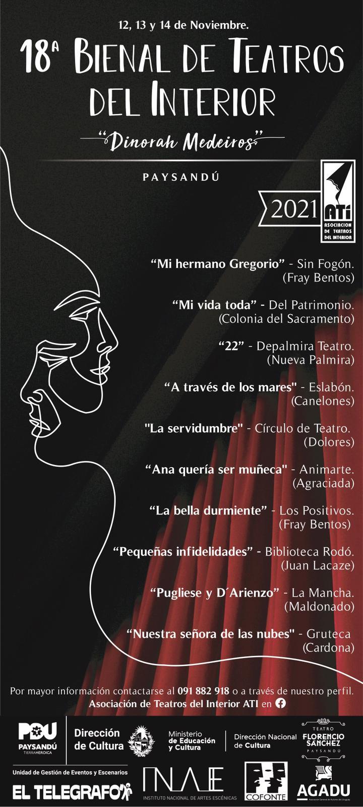 18 Bienal de Teatros del Interior